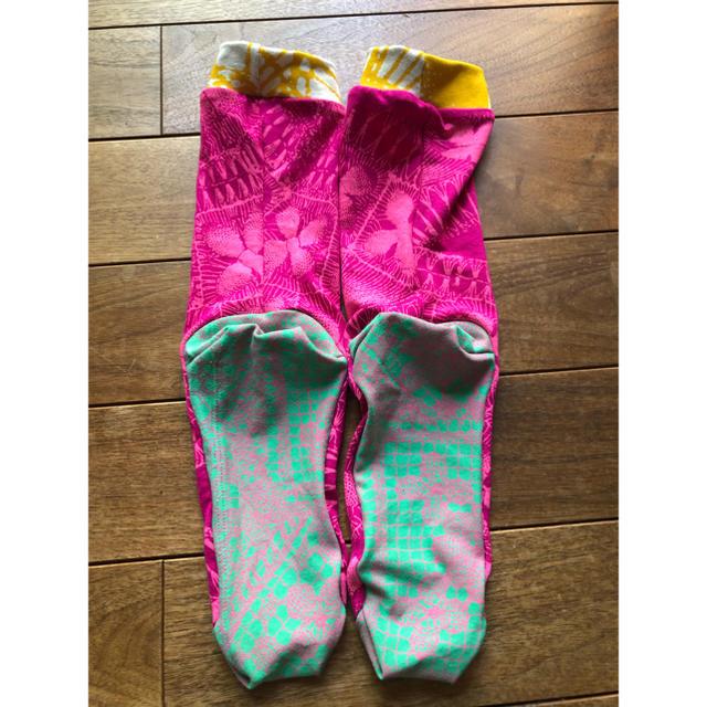 H.P.FRANCE(アッシュペーフランス)のおしゃれソックス juana de arco ホォアナデアルコ yoga 靴下 レディースのレッグウェア(ソックス)の商品写真