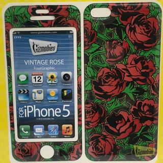 ギズモビーズ(Gizmobies)のiPhoneSEケース 〈VINTAGE ROSE〉ギズモビーズ(iPhoneケース)