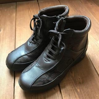 ヘビ柄 パイソン 23.0cm 春秋(ローファー/革靴)