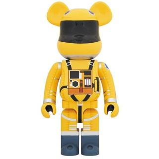 MEDICOM TOY - BE@RBRICK SPACE SUIT YELLOW Ver.1000%
