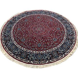 イラン製 ウィルトン織 アクリル 円形 250cm