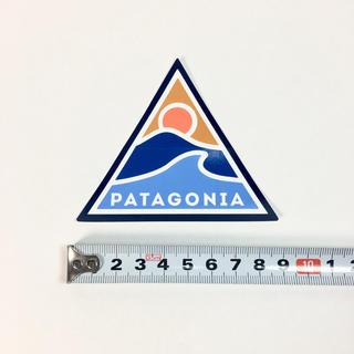 パタゴニア(patagonia)のパタゴニア ステッカー ☆  1点 三角 波 太陽!(サーフィン)