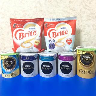 Nestle - ネスカフェ バリスタ 詰め替え 5個、ネスレブライト2個セット