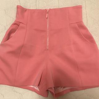 snidel - snidel スナイデル ピンク ショートパンツ