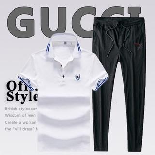 Gucci - グッチ Gucci 半袖メンズ TシャツパンツセットT-shirt新品未使用美品
