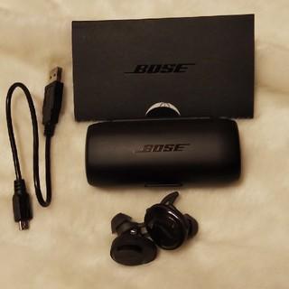BOSE - BOSE soundsport Free ブラック ボーズワイヤレスイヤホン