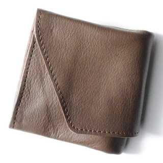 旅行財布 コンパクト財布 ブラウン(ファッション小物)