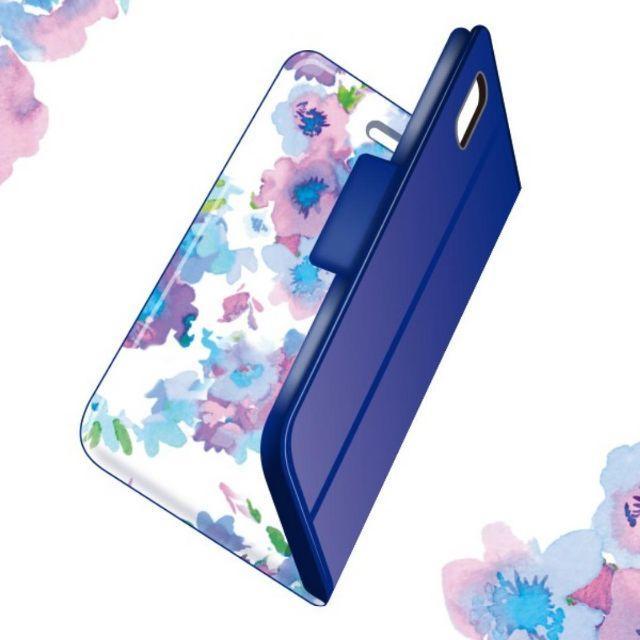iphone8 qi 対応 ケース | iPhone XR ウルトラ スリムケース・フラワーデザイン・ネイビーの通販 by onemc's shop|ラクマ