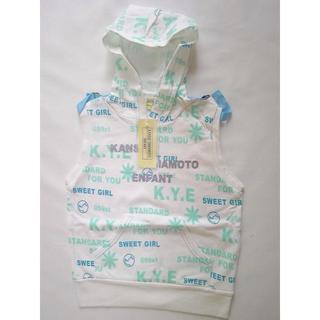 Kansai Yamamoto - 新品 KANSAI YAMAMOTO パーカー 袖なし 子供服 女の子 140