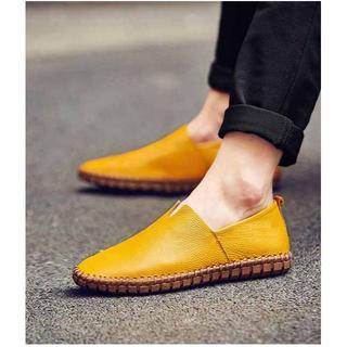2981 新品★メンズ ローファー スリッポン 紳士靴柔らかい ビッグサイズあり