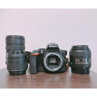 Nikon - 美品☆NIKON D5500 18-55 VR IIキット+レンズ2セット