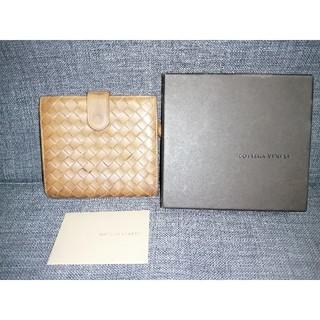 ボッテガヴェネタ(Bottega Veneta)のボッテガヴェネタ イントレチャート ブラウン 箱付き (財布)