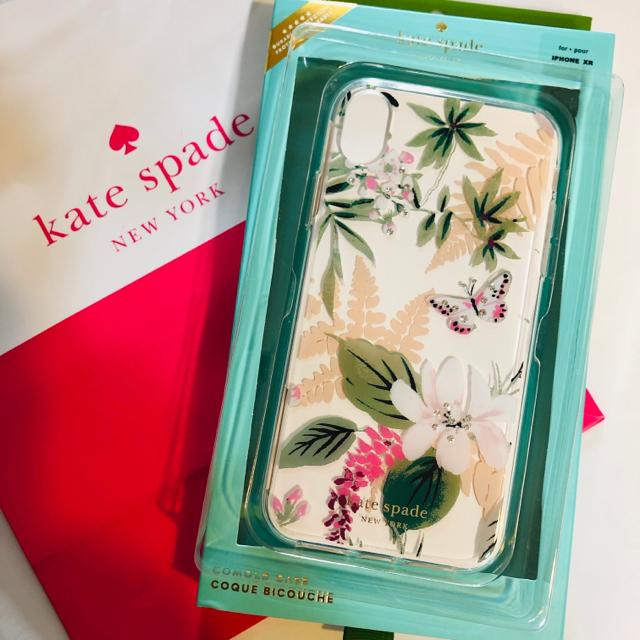 カバー ケース iphone8 - kate spade new york - ケイトスペード iPhone XR ケース クリア 蝶々 フラワー ストーンの通販 by 8/31まで赤字在庫セール.値段交渉NG|ケイトスペードニューヨークならラクマ