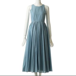 デミルクスビームス(Demi-Luxe BEAMS)のマリハ   MARIHA 夏のレディのドレス 36 スモーキーブルー(ロングワンピース/マキシワンピース)