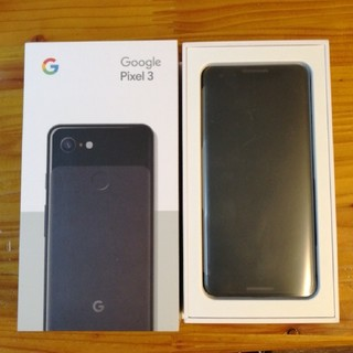 ANDROID - google pixel3 64GB ブラック新品未使用 simフリー ok