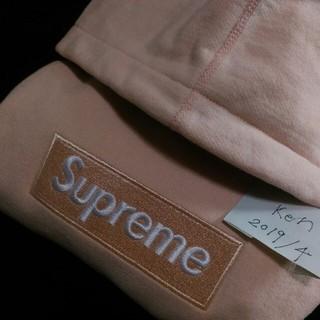 Supreme - 最終出品❕supreme box logo peach M