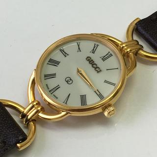 Gucci - グッチ 6000L ローマン文字盤 レディース腕時計