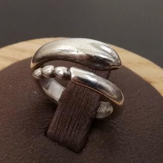 ティファニー(Tiffany & Co.)の希少 美品 ティファニー シルバー スネーク リング UI60(リング(指輪))