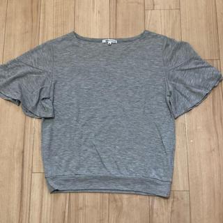 シマムラ(しまむら)の袖フリルTシャツ(Tシャツ(半袖/袖なし))