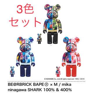 MEDICOM TOY - BE@RBRICK BAPE × M / mika ninagawa