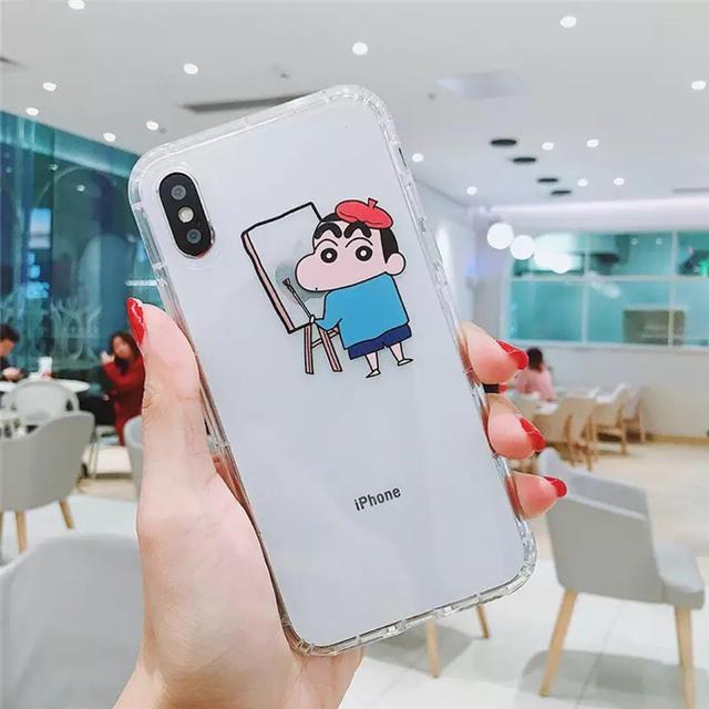 Miu Miu アイフォンXS ケース 芸能人 | クレヨンしんちゃん☆iPhone7iPhone8ケース スマホケース の通販 by ちゃたろう's shop|ラクマ