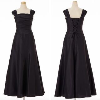 59b23f01d2779 エメ(AIMER)のAimer マーメイドライン・2wayロングドレス 黒(ロングドレス
