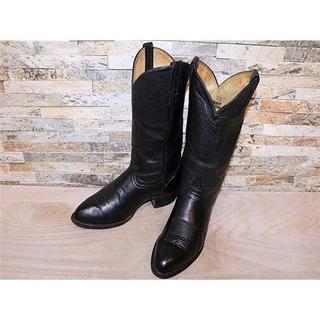 トニーラマ(Tony Lama)のトニーラマ TonyLama シンプルウエスタンブーツ 黒 2828,5cm(ブーツ)