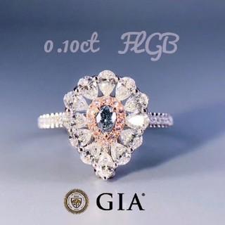 新作♡Fancy Grayish Blueダイヤモンドリング(リング(指輪))