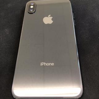 iPhone - 非純正画面交換品 赤ロム iPhoneX 64GB グレー 本体のみ