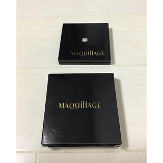 マキアージュ(MAQuillAGE)の⬛️非売品⬛️ マキアージュ コンパクトミラー 手鏡 ミラー 資生堂 ノベルティ(ミラー)