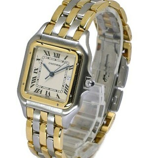 Cartier - カルティエ Cartier パンテール MM   メンズ腕時計 ブレス SS