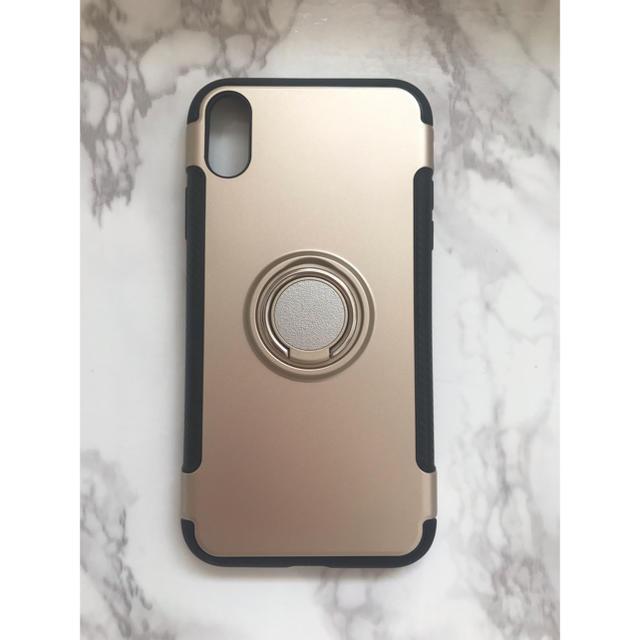 tpu ケース iphone8 - 新品!iPhoneXR  カッコいい リング付き耐衝撃ケース の通販 by yukino'shop|ラクマ