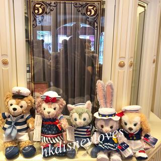 Disney - 〈香港ディズニーランド〉 ☆新作☆14周年記念 ぬいぐるみSS5点セット