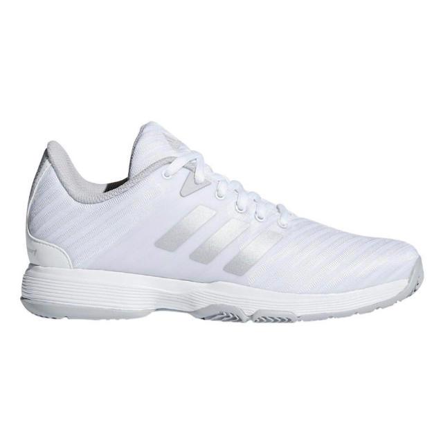 adidas(アディダス)の★アディダス レディース テニスシューズ 23.5cm オールコート ホワイト スポーツ/アウトドアのテニス(シューズ)の商品写真
