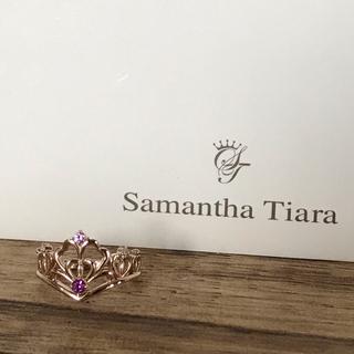 サマンサティアラ(Samantha Tiara)のサマンサティアラ リング k18 (リング(指輪))