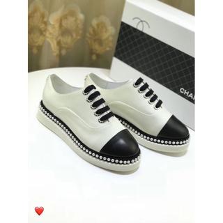 シャネル(CHANEL)のシャネル CHANEL 靴 ロファー 革靴 スリッポン スニーカー(ローファー/革靴)