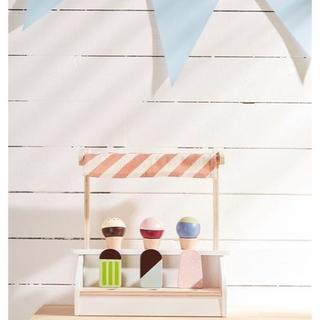イケア(IKEA)のkidsconcept キッズコンセプト  アイスクリーム スタンド(知育玩具)