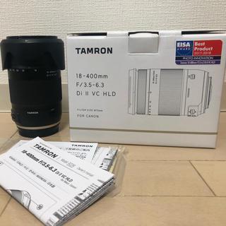 TAMRON - タムロン 18-400mm F3.5-6.3 DiII VC HLD キャノン