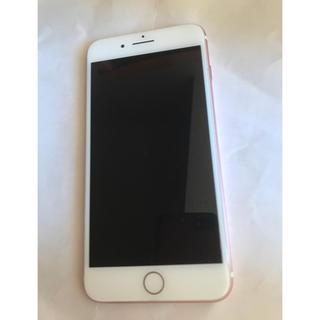 Apple - 美品 iPhone7 plus 128gb ローズゴールド ドコモ simフリー