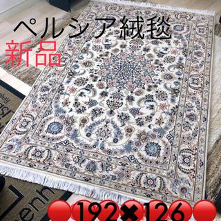 ACTUS - ペルシャ絨毯 イラン産 クム Qum ナイン産 ウール シルク