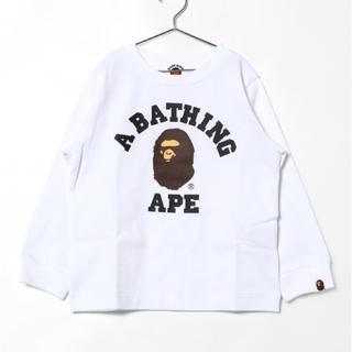 アベイシングエイプ(A BATHING APE)のape(Tシャツ/カットソー)
