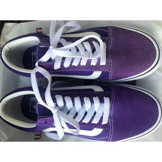 VANS - オールドスクール パープル 紫
