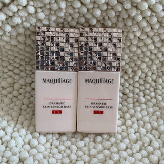 マキアージュ(MAQuillAGE)のマキアージュ☆ドラマティックスキンセンサーベースEX(25ml)新品2本(化粧下地)