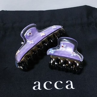 acca - acca アッカ  DOUBLE FACE 中小クリップセット