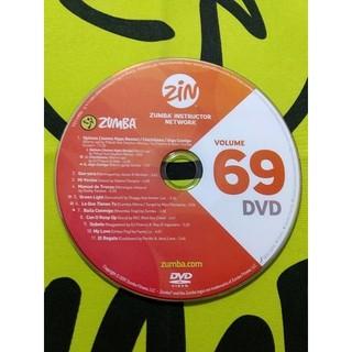 Zumba - ZUMBA ズンバ ZIN69 DVD インストラクター専用