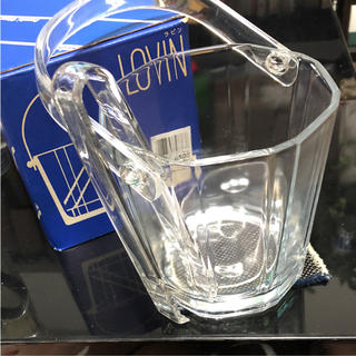 トウヨウササキガラス(東洋佐々木ガラス)の新品 佐々木ガラス 氷入れ(アルコールグッズ)