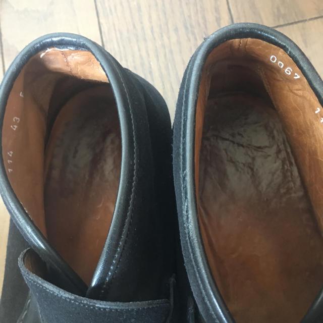 Gucci(グッチ)の送料込 GUCCI ビットローファー ハイカット 黒 43(28cm) メンズの靴/シューズ(スリッポン/モカシン)の商品写真