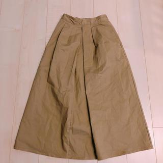 ジーユー(GU)のスカート  (ロングスカート)
