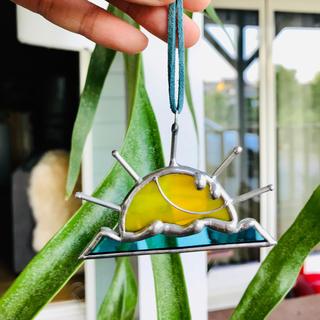ロンハーマン(Ron Herman)のステンドグラス スマイル太陽 サンキャッチャー(その他)