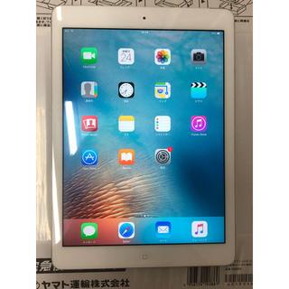 アイパッド(iPad)のiPad Air 9.7インチ 16GB wifi + セルラー au(タブレット)
